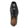 Pánské kožené polobotky s prošitím přes špici bata, černá, 824-6815 - 19
