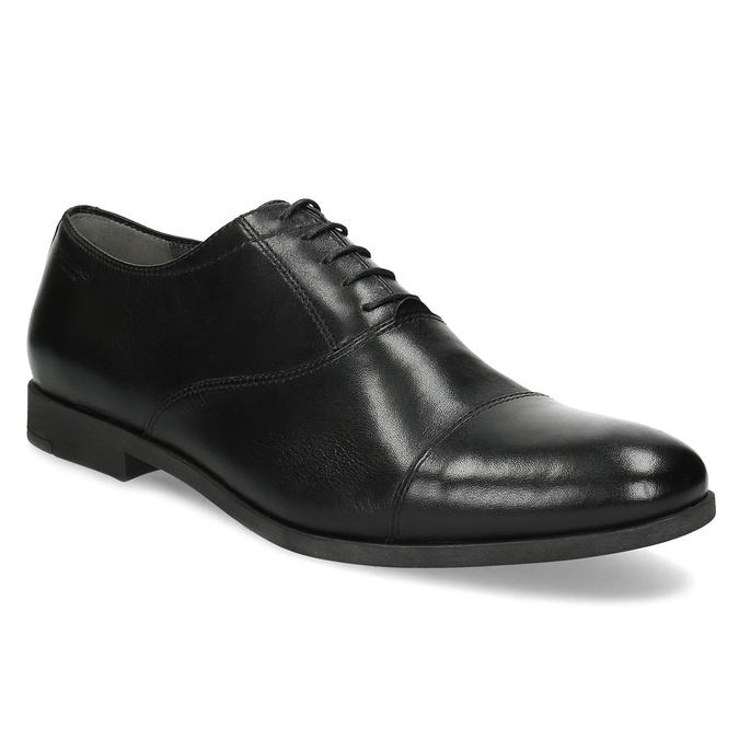 Vagabond Černé kožené Oxford polobotky - Elegantní  44bbcc7ce0