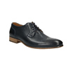 Modré kožené polobotky bata, modrá, 826-9794 - 13