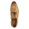 Hnědé kožené polobotky bata, hnědá, 826-8794 - 19
