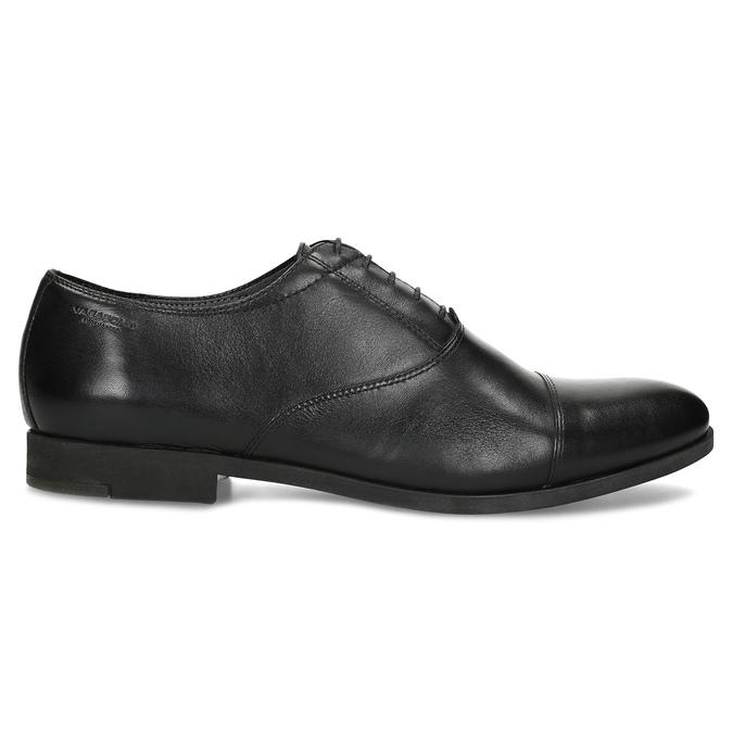 Černé kožené Oxford polobotky vagabond, černá, 824-6048 - 19