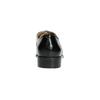 Dámské polobotky s lakovanou špicí bata, černá, 528-6633 - 17
