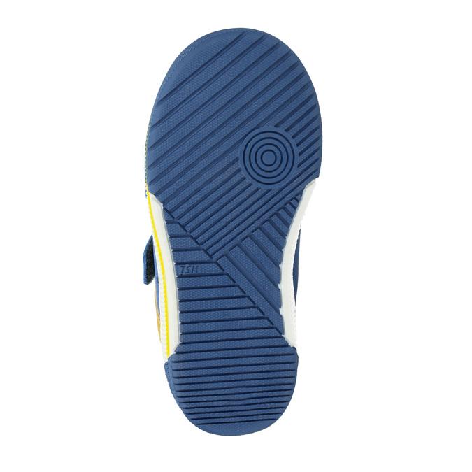 Dětské kožené tenisky mini-b, modrá, 2020-214-9600 - 26