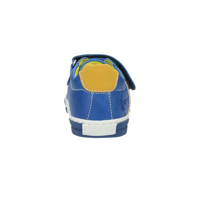Dětské kožené tenisky mini-b, modrá, 2020-214-9600 - 17