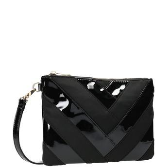 Lakovaná dámská kabelka Crossbody bata, černá, 961-6683 - 13