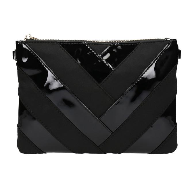 Lakovaná dámská kabelka Crossbody bata, černá, 961-6683 - 26