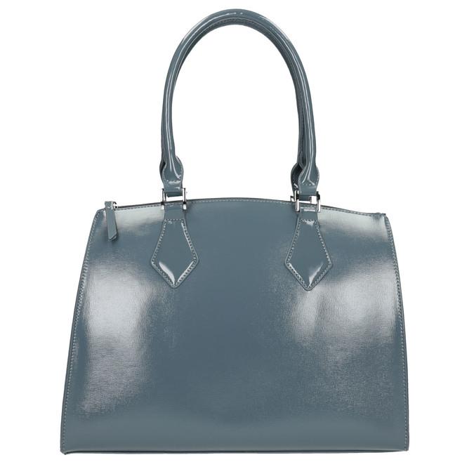 Dámská kabelka s pevnými uchy bata, modrá, 961-9740 - 26