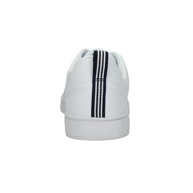 Pánské tenisky s perforací adidas, bílá, 801-1100 - 17