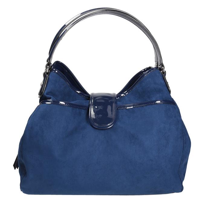 Modrá dámská kabelka bata, modrá, 969-9280 - 26