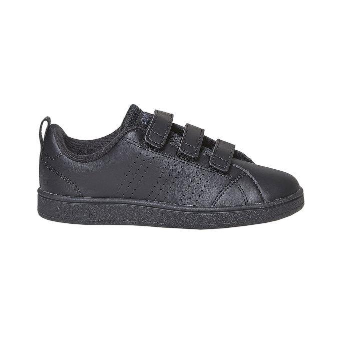 Dětské tenisky na suché zipy adidas, černá, 301-6168 - 15