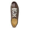 Kožené pánské tenisky bata, hnědá, 846-4617 - 17