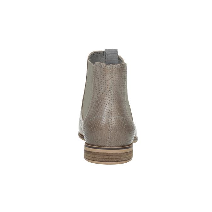 Dámská obuv v Chelsea stylu bata, hnědá, 596-2644 - 17