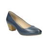 Lodičky na stabilním podpatku pillow-padding, modrá, 626-9637 - 13
