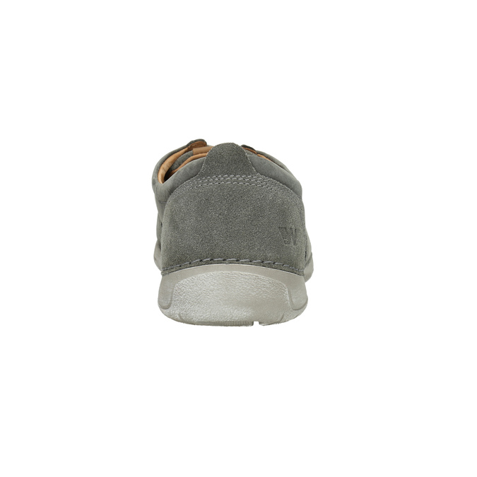 Ležérní kožené polobotky weinbrenner, šedá, 846-2631 - 17