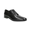 Černé kožené Oxford polobotky bata, černá, 824-6824 - 13