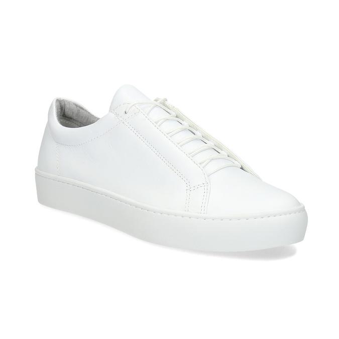 Bílé kožené tenisky dámské vagabond, bílá, 624-1019 - 13