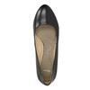 Lodičky s kulatou špičkou pillow-padding, černá, 624-6637 - 19