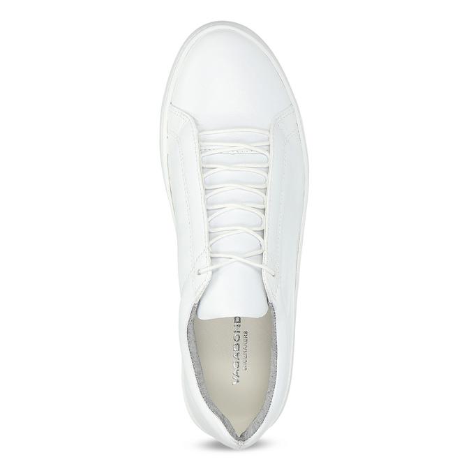 Bílé kožené tenisky dámské vagabond, bílá, 624-1019 - 17