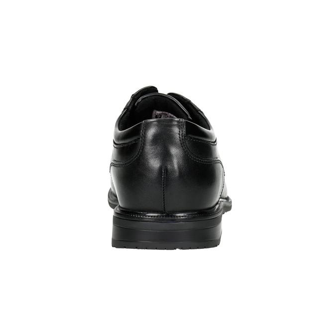 Pánské kožené polobotky rockport, černá, 824-6124 - 17