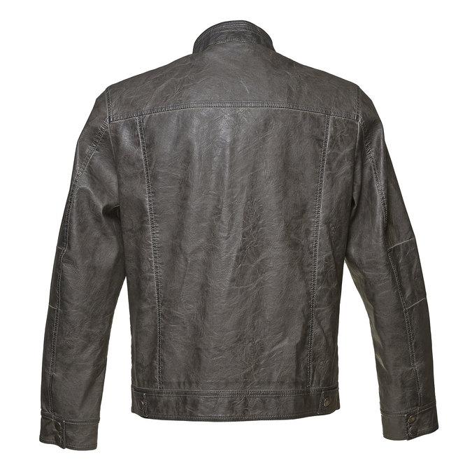 Pánská prošívaná bunda bata, šedá, 971-2194 - 26