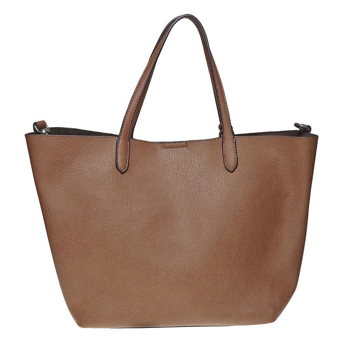 Perforovaná dámská kabelka bata, hnědá, 961-3274 - 19