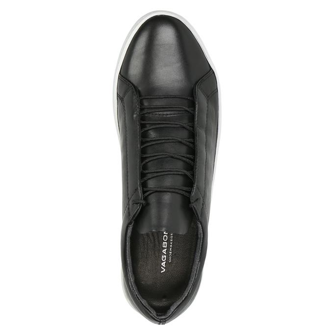 Dámské kožené tenisky vagabond, černá, 624-6019 - 19