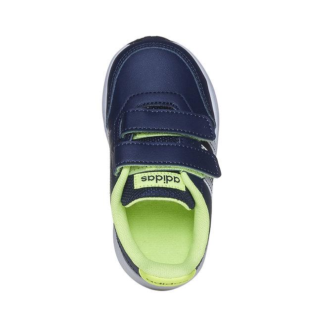 Dětské tenisky na suché zipy adidas, modrá, 109-9163 - 19