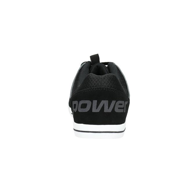 Ležérní kožené tenisky power, černá, 803-6160 - 17