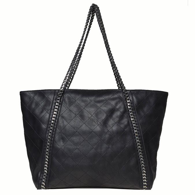 Dámská kabelka s řetízkem bata, černá, 961-6451 - 17