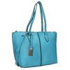 Modrá Shopper kabelka gabor-bags, tyrkysová, 961-9074 - 13