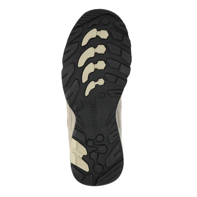 Dámské kožené Outdoor boty power, hnědá, 503-3118 - 26