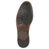 Ležérní kožené polobotky pánské clarks, hnědá, 826-3089 - 26