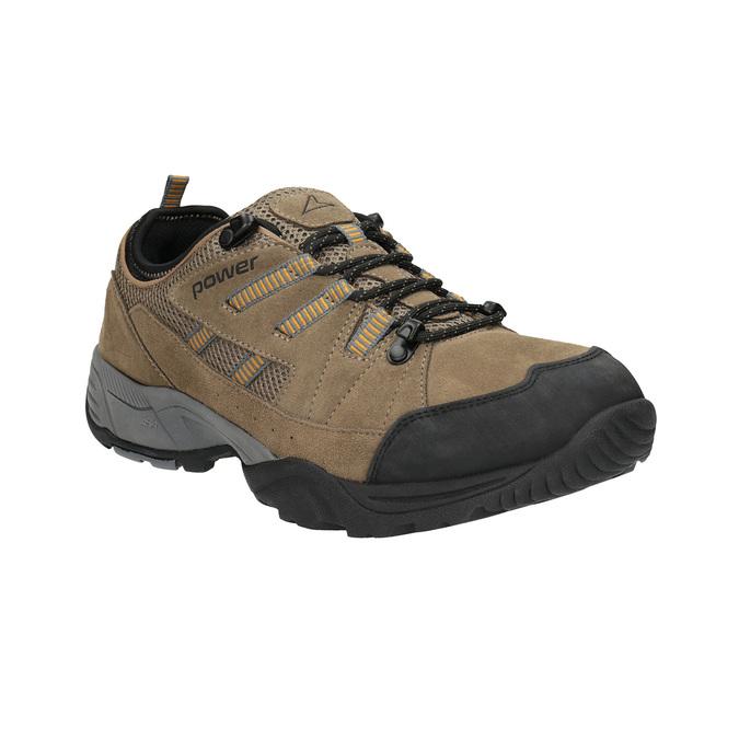 Kožená Outdoor obuv power, hnědá, 803-3118 - 13