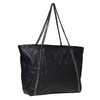 Dámská kabelka s řetízkem bata, černá, 961-6451 - 13