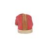 Červené kožené Slip-on boty bata, červená, 516-5602 - 17