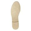 Kožené dámské polobotky bata, šedá, 526-2619 - 26