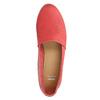 Červené kožené Slip-on boty bata, červená, 516-5602 - 19