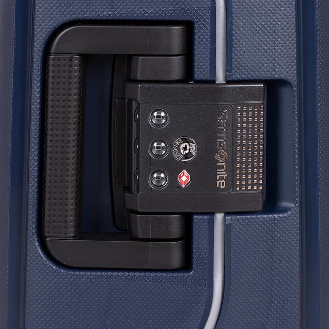 Kvalitní skořepinový kufr samsonite, modrá, 960-9321 - 15