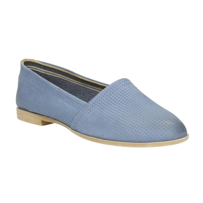 Dámská obuv ve stylu Slip-on bata, modrá, 516-9602 - 13