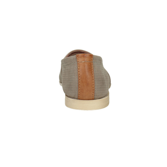 Dámská kožená Slip-on obuv bata, hnědá, 516-2602 - 17