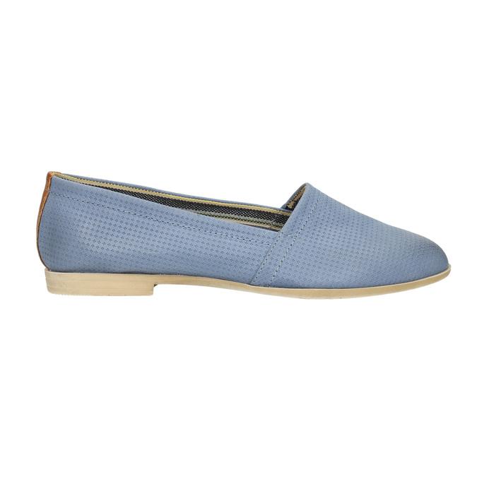 Dámská obuv ve stylu Slip-on bata, modrá, 516-9602 - 15