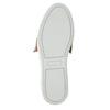 Kožená Slip-on obuv s mašlí bata, růžová, 516-5605 - 26