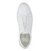 Bílé kožené tenisky vagabond, bílá, 824-1013 - 19