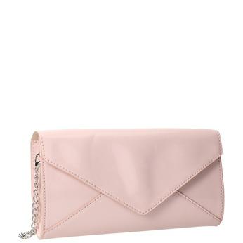 Růžové dámské psaníčko bata, růžová, 961-5685 - 13