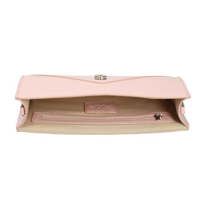 Růžové dámské psaníčko bata, růžová, 961-5685 - 15