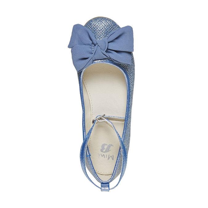 Modré dívčí baleríny mini-b, modrá, 329-9241 - 19