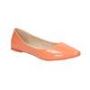 Dámské baleríny bata, oranžová, 521-8602 - 13