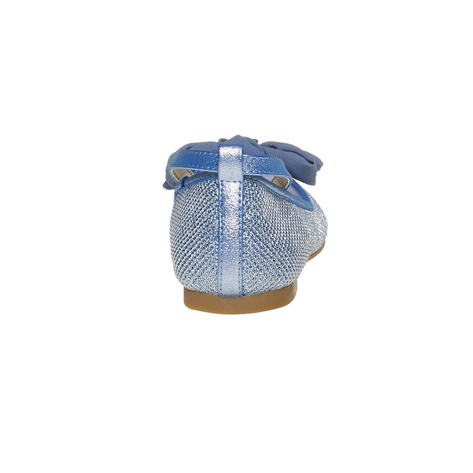 Modré dívčí baleríny mini-b, modrá, 329-9241 - 17