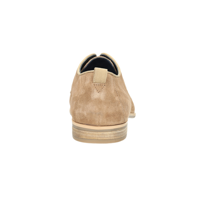 Ležérní kožené polobotky bata, hnědá, 823-3602 - 17