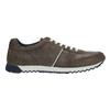 Pánské kožené tenisky bata, hnědá, 843-4624 - 15